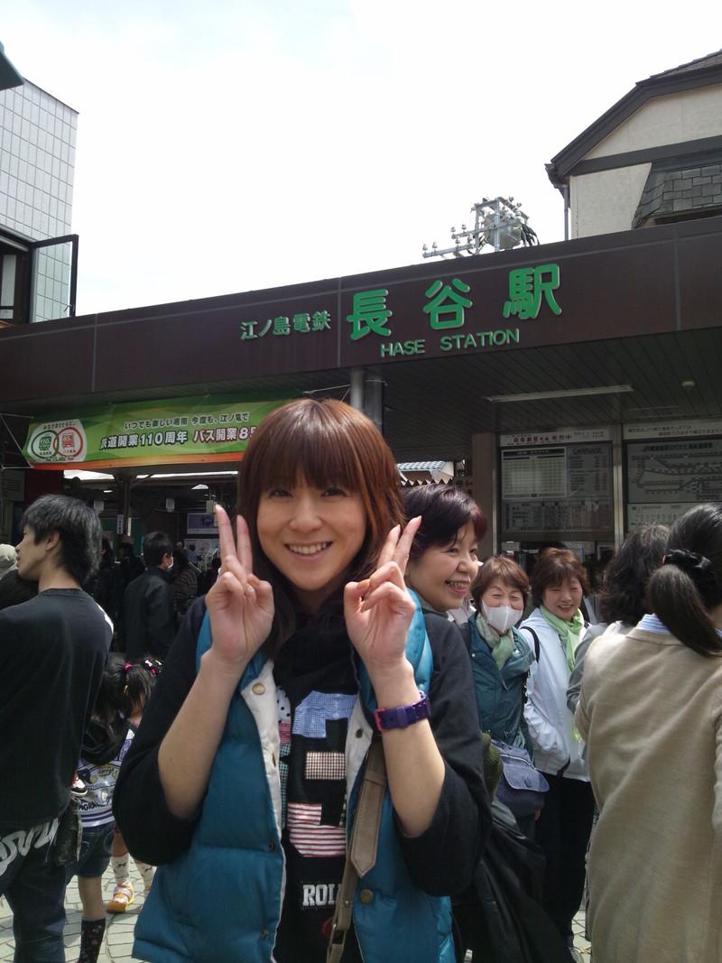 午後からは 長谷駅周辺をレポート
